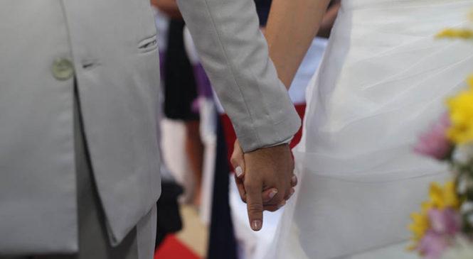 Le persone sposate hanno meno cortisolo nel sangue e vivono più sane